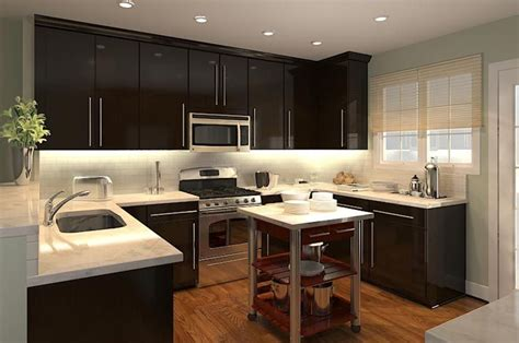 dark kitchen cabinets with white and carrera marble i carrara marble counters w dark cabinets in the kitchen