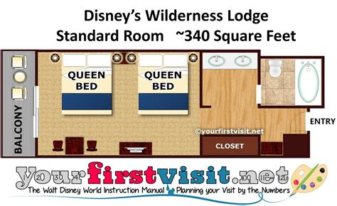 wilderness lodge floor plan the deluxe resorts at walt disney world yourfirstvisit net