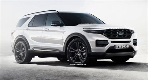 2020 Ford Explorer Design by 2020 Ford Explorer Redesign Tag Auto Breaking News