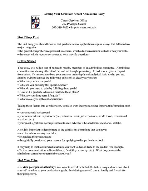 Graduate School Admissions Resume Template by Graduate Admission Essay Exles Performance Test