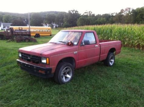 find used 1988 chevrolet s 10 reg cab box bed pro