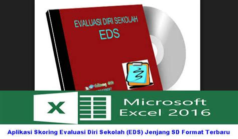 format evaluasi diri sekolah 2013 aplikasi skoring evaluasi diri sekolah eds jenjang sd