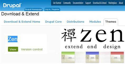 zen layout drupal top 5 responsive themes of drupal
