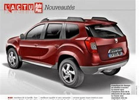 renault dacia duster 2017 next generation 2017 renault dacia duster rendered
