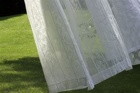 yardage for curtains scroll madras lace curtain yardage direct from london