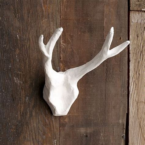 How To Make Paper Mache Antlers - paper mache antlers for the home