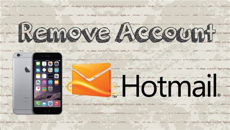 hotmail mobile app how to remove account on outlook hotmail mobile app