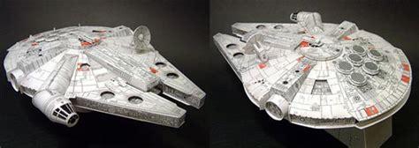 Millenium Falcon Papercraft - papercraft millennium falcon papercraft toys arte de papel