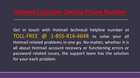Phone Number Search Free Service Hotmail Customer Service 1 855 816 4648 Toll Free Phone Number Usa