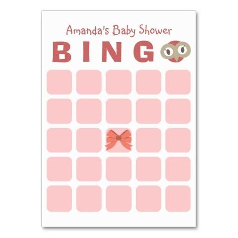 Bingo Card Template 5x5 by 1437 Best Images About Baby Shower Bingo On