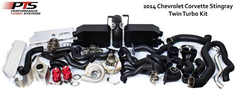 C7 Corvette Turbo Kit by Boostaddict Top Mount Turbo C7 Corvette Lt1