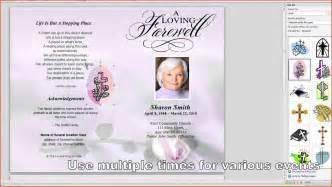 Memorial Service Program Templates by Memorial Service Program Template Proposalsheet