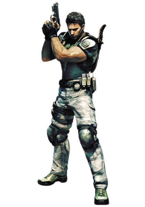 character breakdown chris redfield be a character