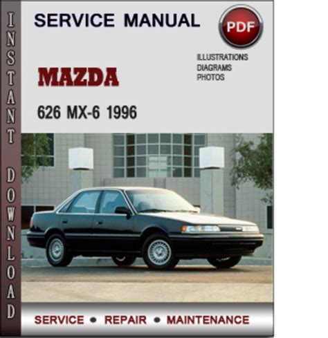 service and repair manuals 1995 mazda mx 6 transmission control 1996 mazda mx 6 repair manual pdf 1996 mazda mx6 owners manual