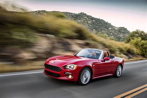 fiat roadster review 2017 fiat 124 spider the roadster is