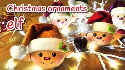 diy christmas crafts elf christmas ornaments innova