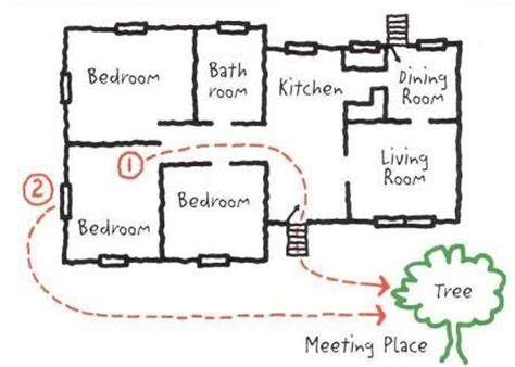 home escape plan a fire escape plan for your home in chicago chicago