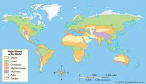 World Map Of Biomes by Pics Photos Biome Map