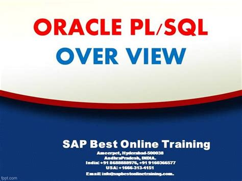 Sap Abap Online Training Ppt Authorstream Sap Powerpoint Template