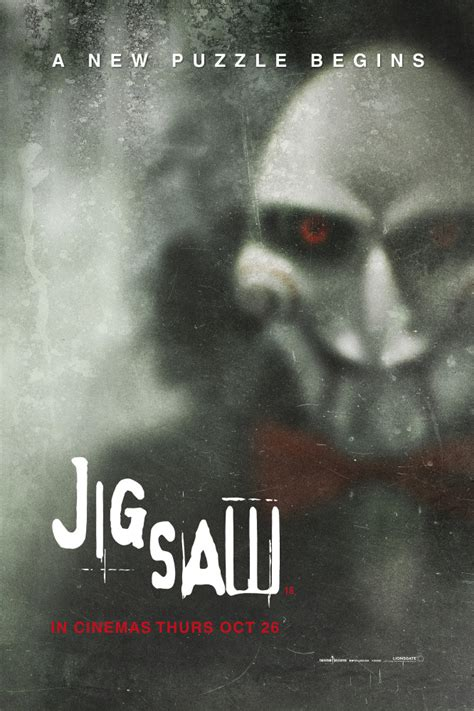 film jigsaw 2017 full movie chilling jigsaw poster teases the start of a new puzzle