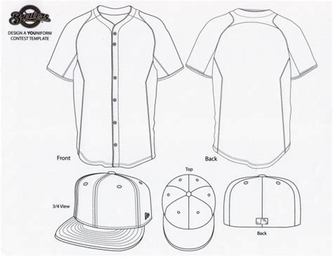 Brewers Look To Fans For Their New Youniform Design Chris Creamer S Sportslogos Net News And Baseball Jersey Vector Template Free