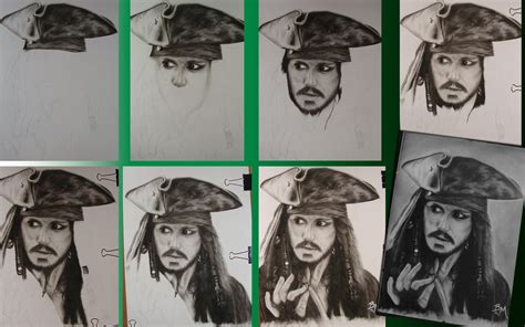 how to draw jack sparrow easy step by step characters pop culture jack sparrow step by step by barteklauri on deviantart