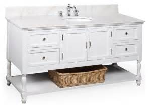 60 Vanity Single Sink Beverly 60 In Single Sink Bath Vanity White White