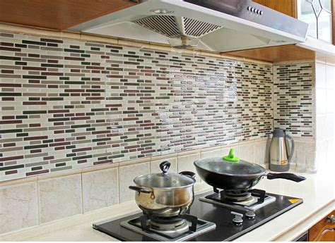 self adhesive backsplash tiles hgtv self adhesive
