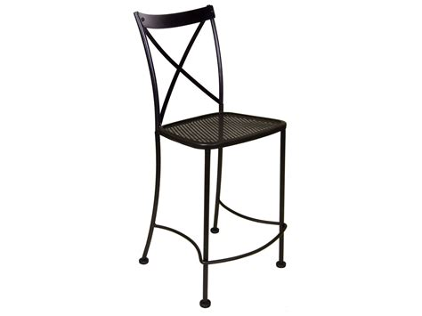 Wrought Iron Bar Stool Ow Villa Wrought Iron Bar Stool 516 Bs