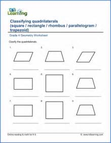 grade 4 geometry worksheets free amp printable k5 learning