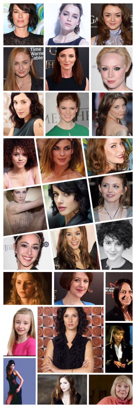 cast of the woman i m a fan of the great female cast of game of thrones