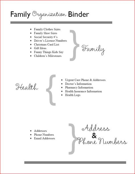 family organization 17 best images about home management binder on pinterest