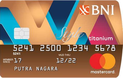 syarat dan ketentuan membuat kartu kredit bni jenis kartu kredit bni