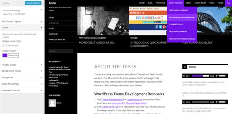 tutorial wordpress twenty fourteen customizer page 2 cello expressions