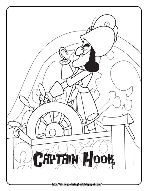 Jake And The Neverland Pirates 2 Free Disney Coloring Jake Coloring Pages