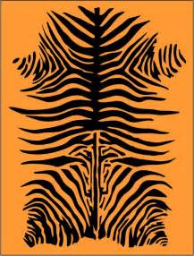 tiger stripe template 6 best images of stripe stencil printable zebra print