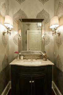 Powder Bathroom Design Ideas by Why Wallpaper Coco Milanos Fine Interior Design