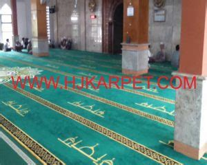 Karpet Karakter Di Sukabumi jual karpet tebal masjid kota sukabumi hjkarpet
