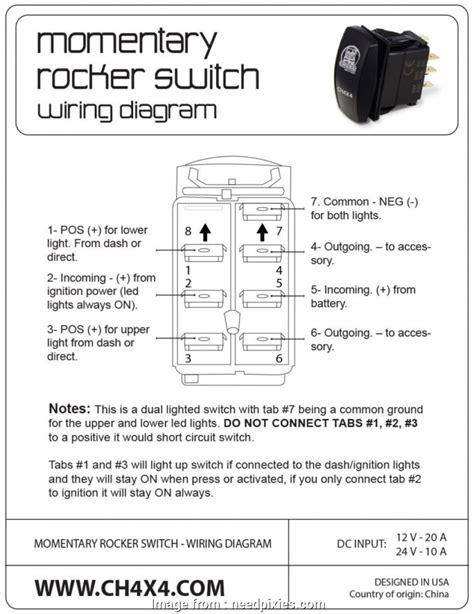 wiring pin rocker switch popular wiring diagram winch