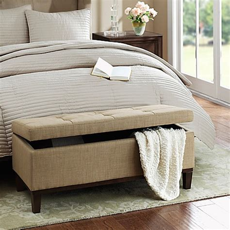 storage ottoman bed bath and beyond regency heights 174 amherst bench storage bench bed bath