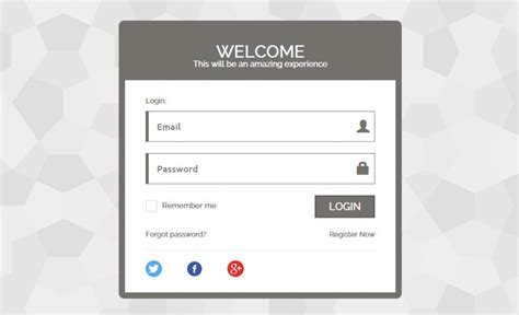 php mysql template 6 best php login form templates free premium themes