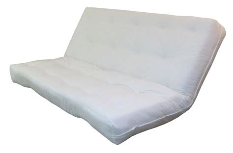 springaire 10 quot thick cotton foam poly futon