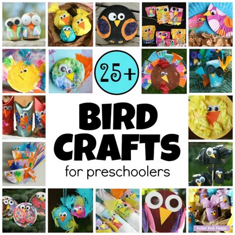easy crafts preschoolers 25 easy bird crafts for preschoolers happy hooligans