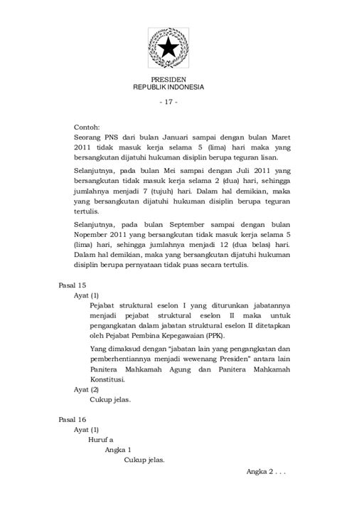 pp 53 2010 disiplin pns