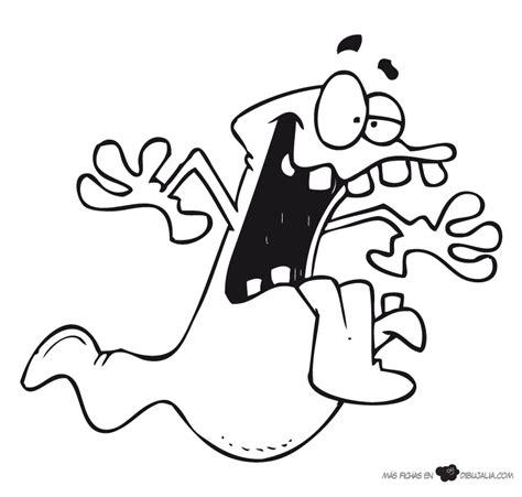 imagenes de fantasmas para dibujar faciles loco fantasma dibujalia dibujos para colorear