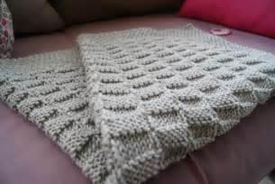 patron tricot gratuit couverture