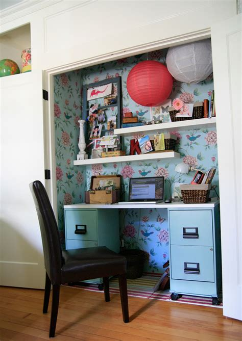 Turn Your Closet Into An Office by 10 Ways To Turn Your Closet Into An Office Brit Co