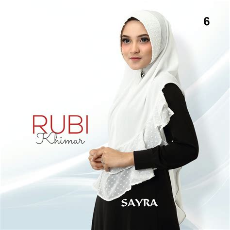 Khimar Rubi by Rubi Khimar By Sayra Melody Fashion