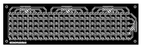 Pcb Matrix Lobang Ic 4017 decade counter schematic decade counter circuit schematic elsavadorla