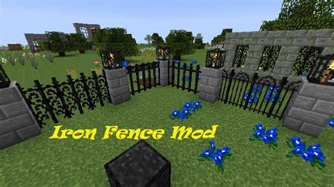 iron fence mod